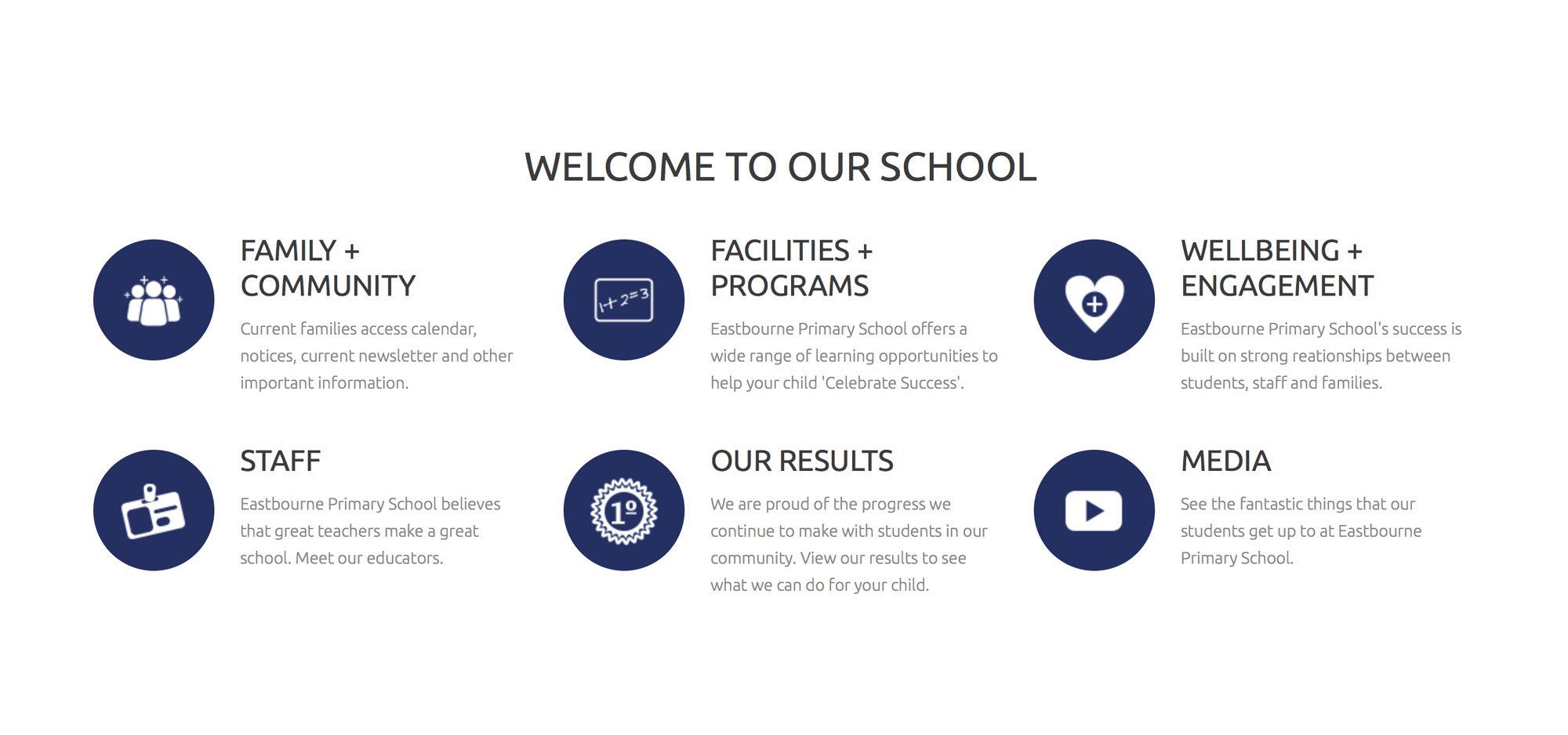 website design rosebud eastbourne primary school2