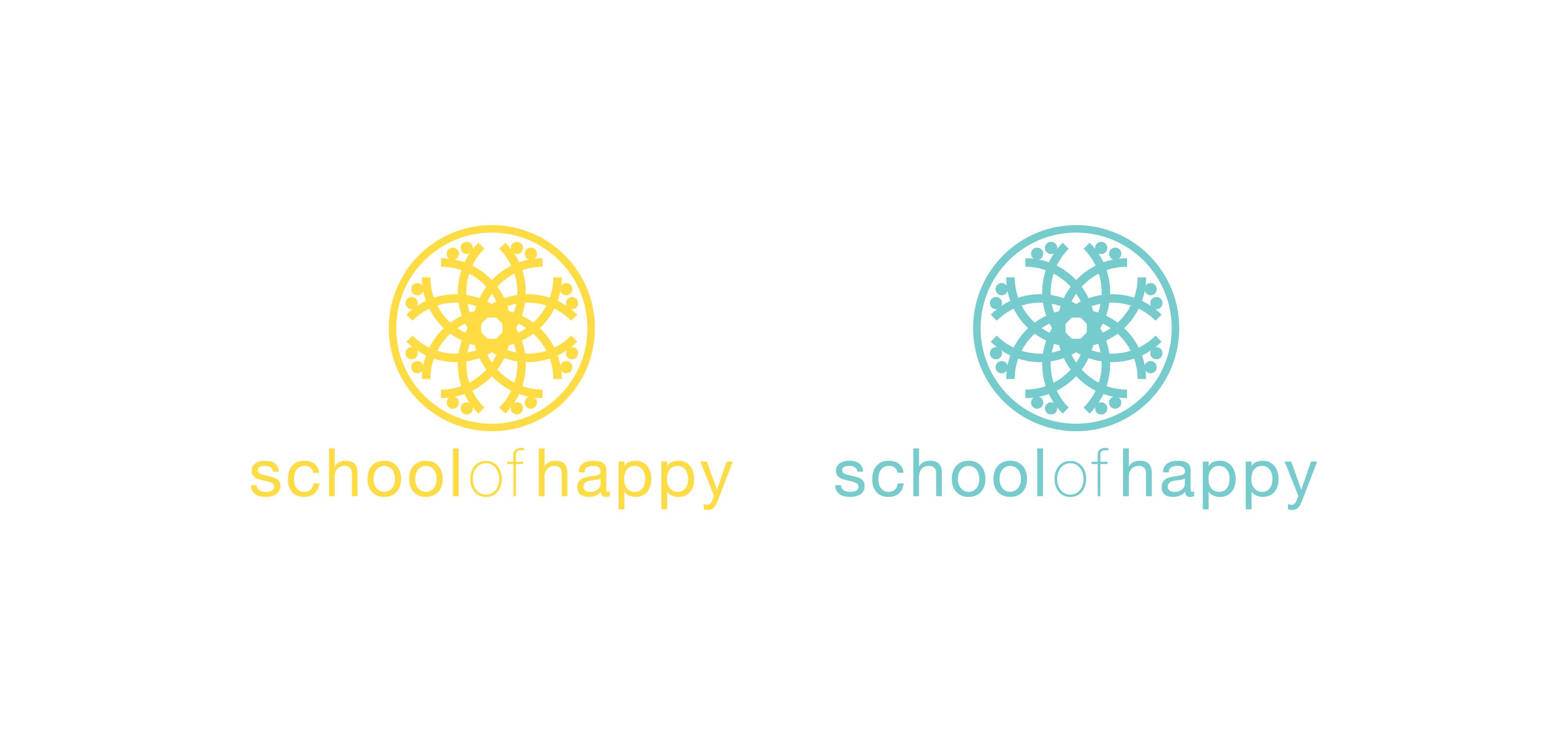 Logo Design School of Happy3