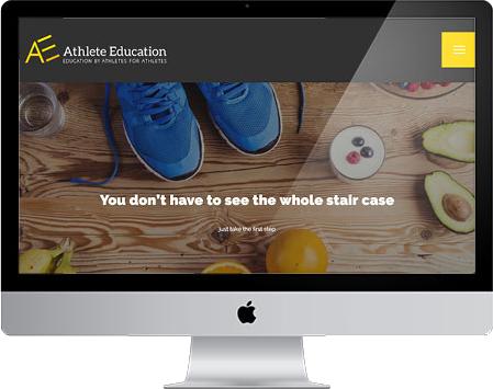 Website Design Screen Shot