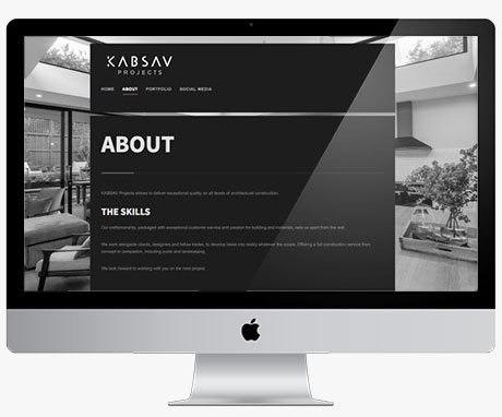 New Website Design for KABSAV Projects