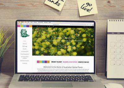 Austraflora Website Design