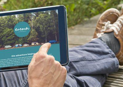 Cocoon Campers Website