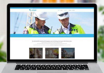 Ledar Website Design