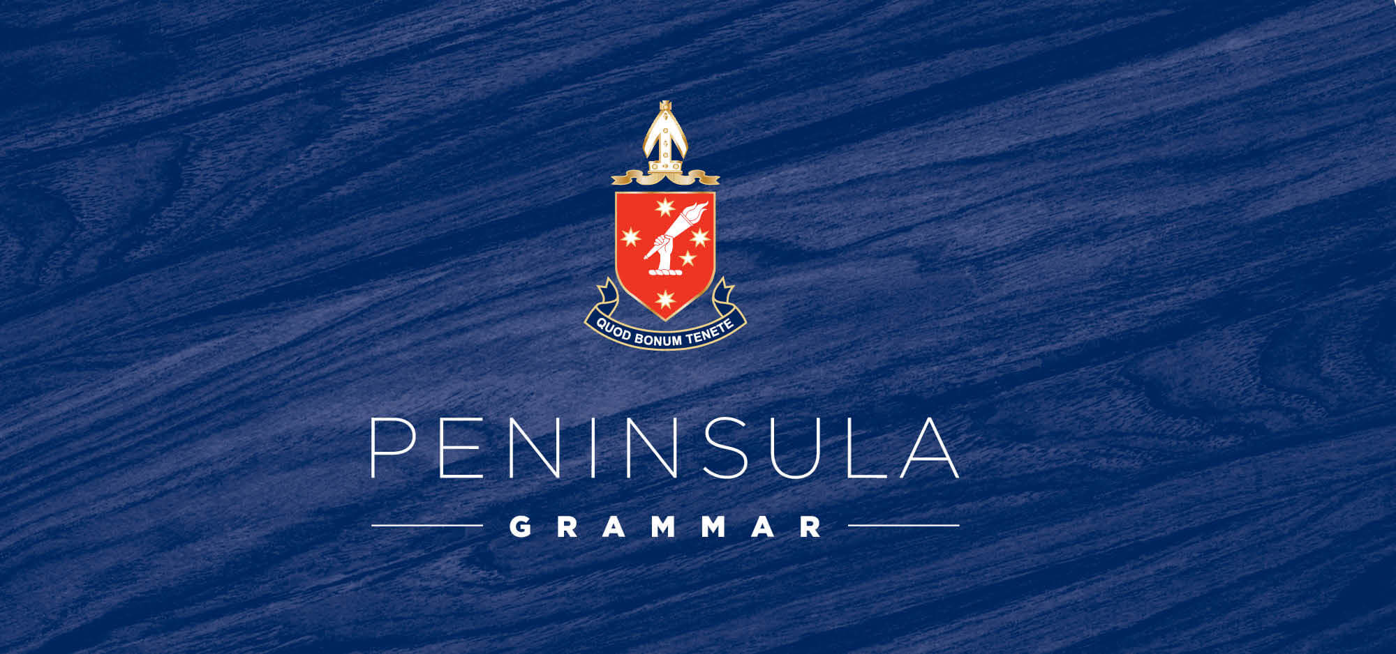 Peninsula Grammar Logo Design