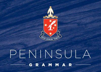 Peninsula Grammar      Branding Process