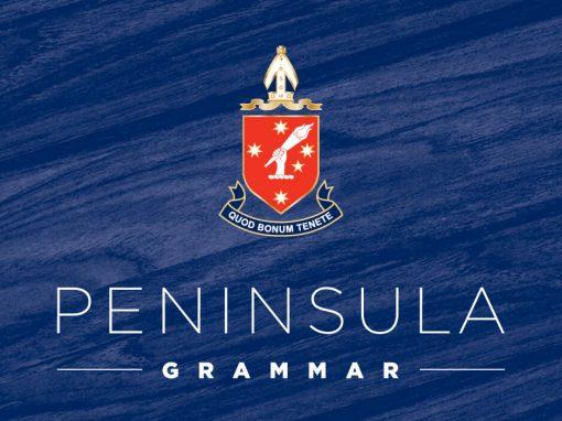 Peninsula Grammar  |   Branding Process
