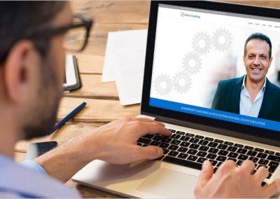 Nidac Coaching Website Design