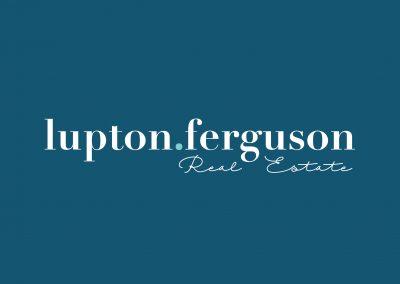 Lupton Ferguson Real Estate | Branding | Templates + More