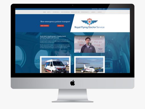 Royal Flying Doctor Service Mobile Patient Care Website