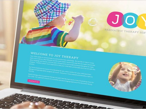 Joy Therapy Website Portfolio